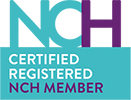 Certified Registered NCH Member Logo - London Hypnotherapy